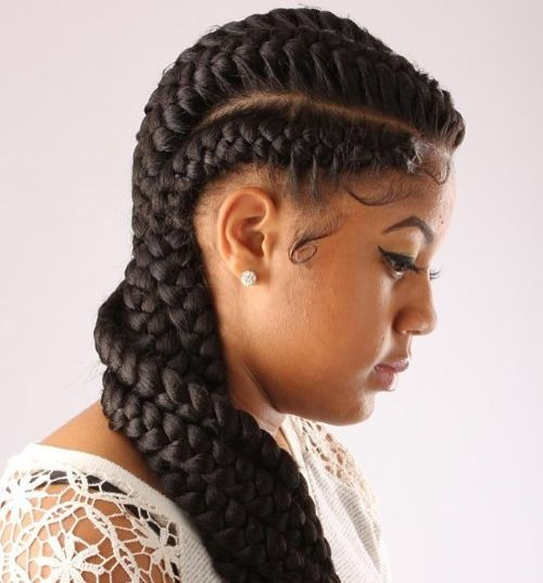 20 Best Goddess Braids For Women
