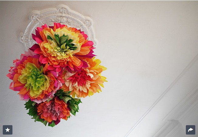 Crepe-Paper Flowers