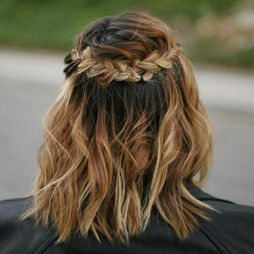 Astounding 20 Sweet Braided Short Haircuts Cute Short Hairstyles With Braids Short Hairstyles Gunalazisus