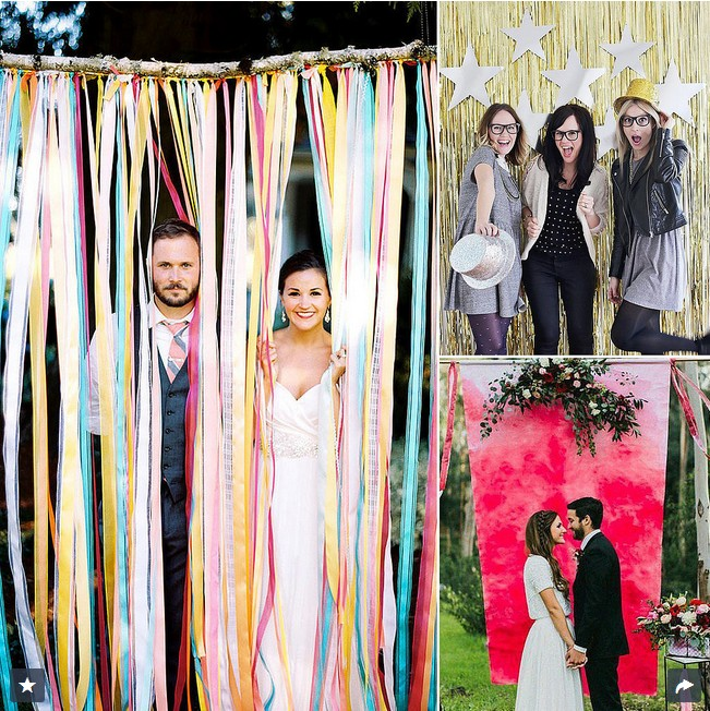 Ideas For A Fun Wedding: 16 DIY Photo Booth Ideas For Your Wedding