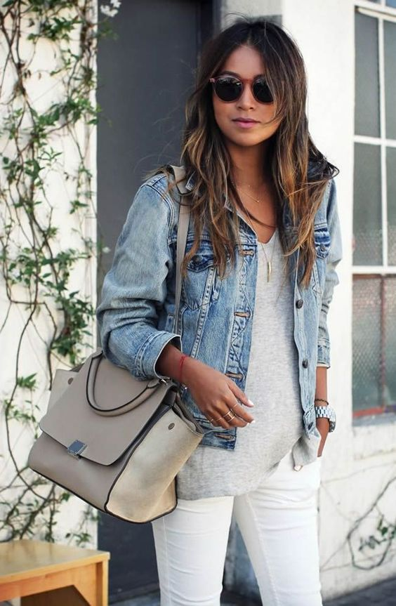 18 Styles To Wear Your Denim Jackets For Spring Pretty Designs