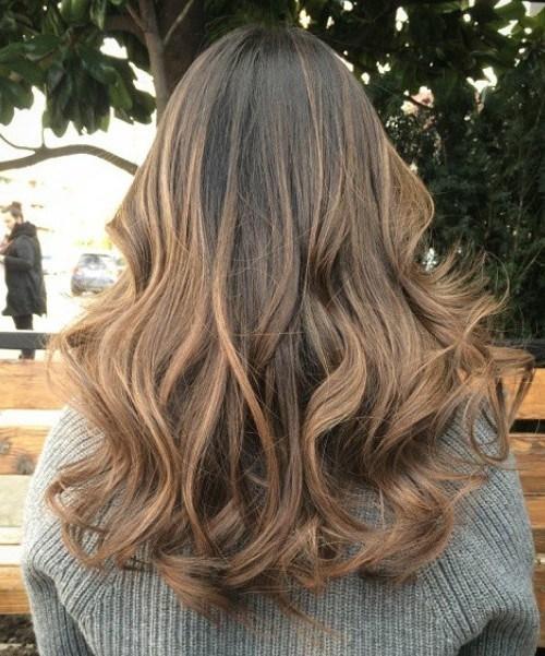 Fall Brown Curls
