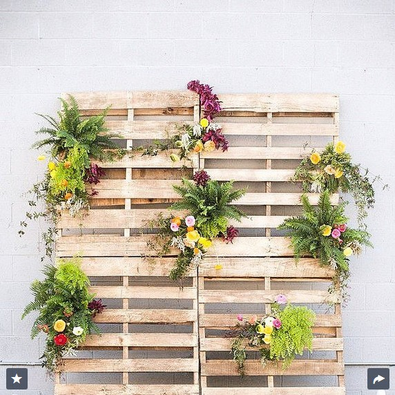 Flowers and Crates