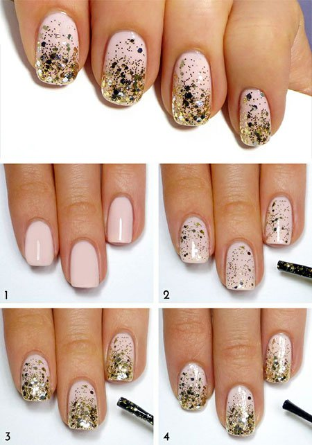 Glitter Nail Design Tutorial