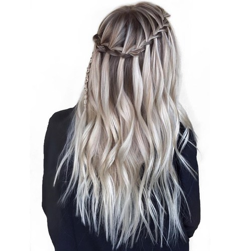 Grey Waterfall Braid