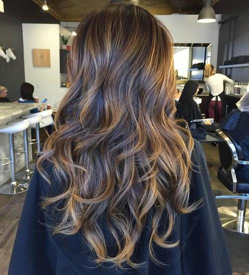 Highlighted Hair