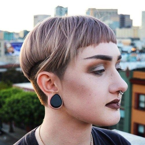 Layered Bowl Hair