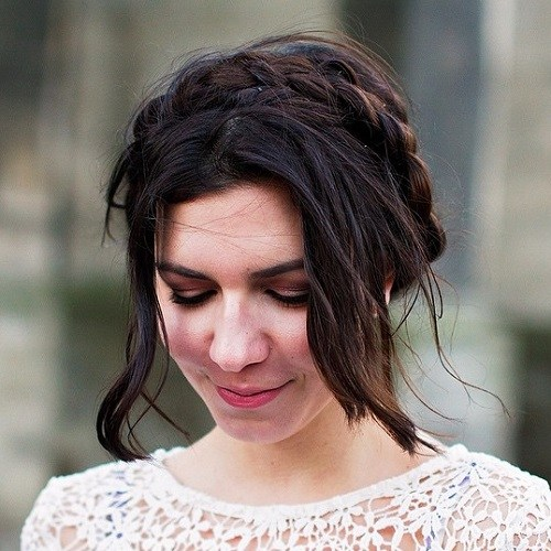 20 beste melkmeisje kapsels - Pretty Milkmaid Braid voor vrouwen Kapsels  braids