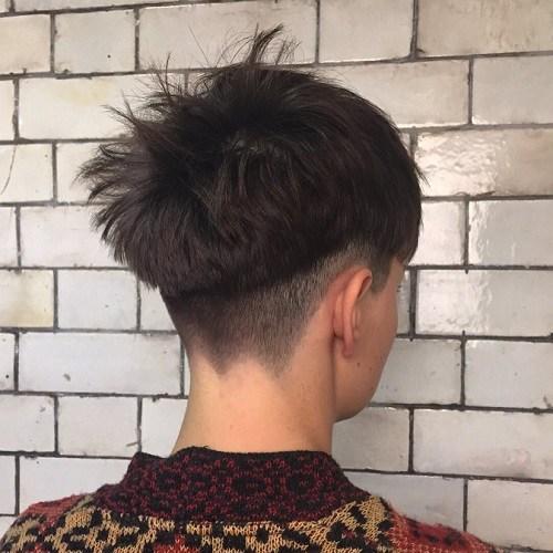 Messy Bowl Hair