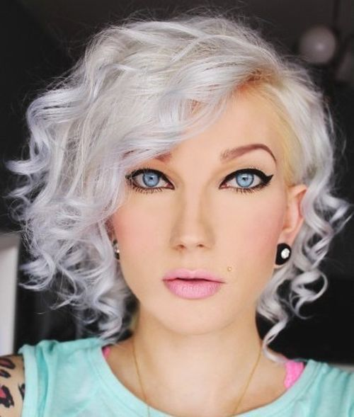 20 Trendy Grey & Silver Hairstyles For Spring