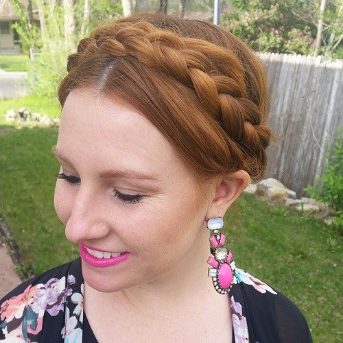 Neat Crown Braid