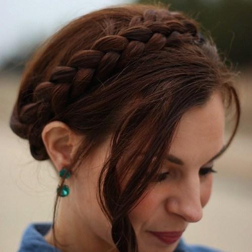 20 Best Milkmaid Hairstyles – Pretty Milkmaid Braid for Women Hairstyles  braids