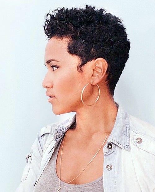 20 Trendy African American Pixie-kapsels voor kort haar - Recht, Krullen, Lagen