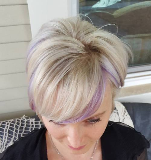 22 Sassy Purple Highlighted Hairstyles (for Short, Medium, Long Hair ...