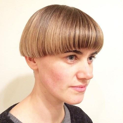 Sleek Bowl Hair