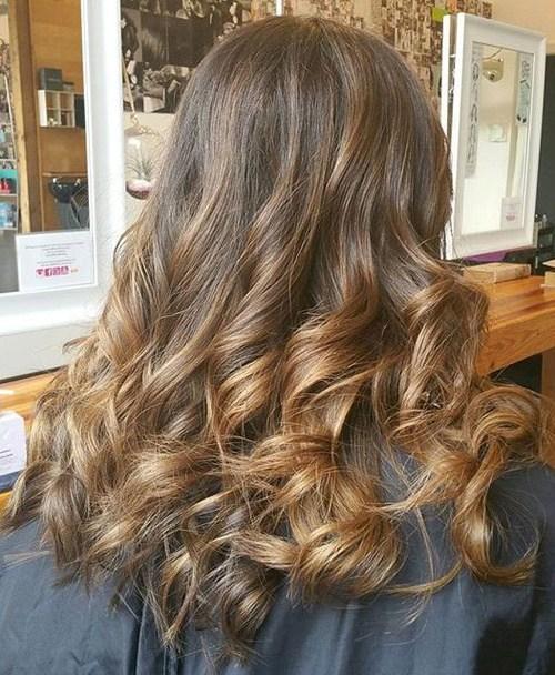 Sleek Long Curls
