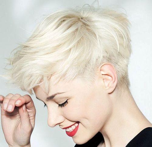 Cortadores de Cabelo Curto - 20 Da Moda Cinza E Prata Penteados Para Primavera