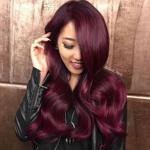 20 trendige Mahagoni-Haarfarbe