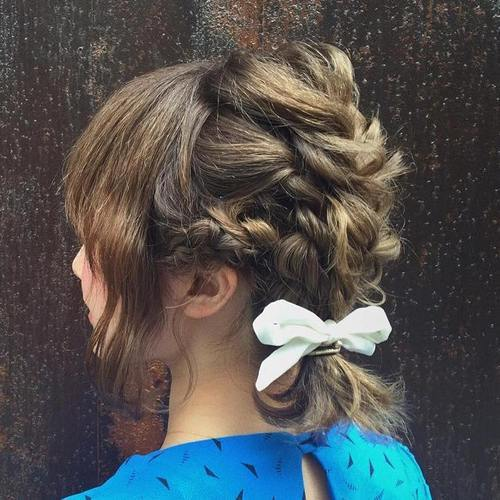 Sophisticated Braid for Short Hair