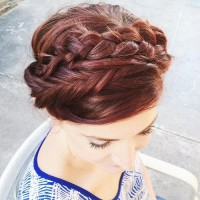 Sophisticated Crown Braid