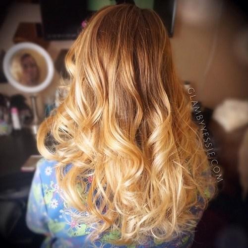 Warm Color Curls