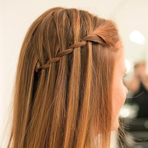 Waterfall Braid for Thin Hair