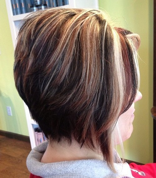 White Highlighted Bob