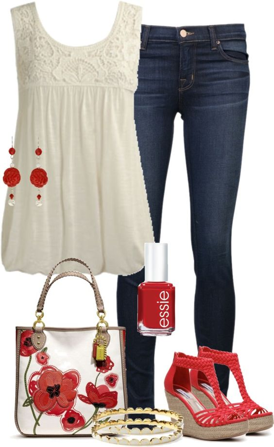 20 Outfit Ideas With Wedges Pretty Designs