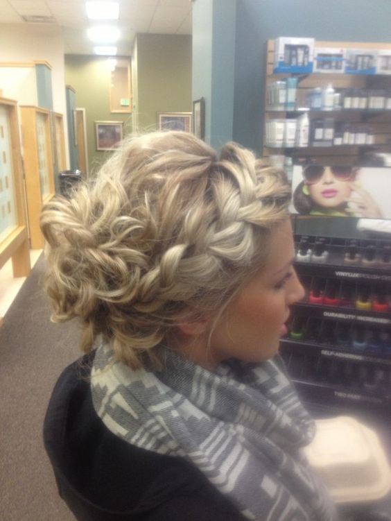 braided casual prom hairstyles
