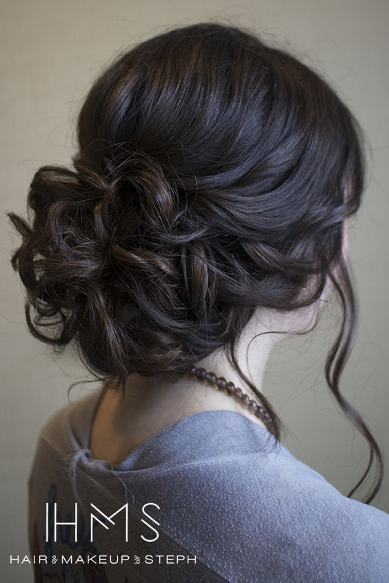 casual prom hairstyle - updo