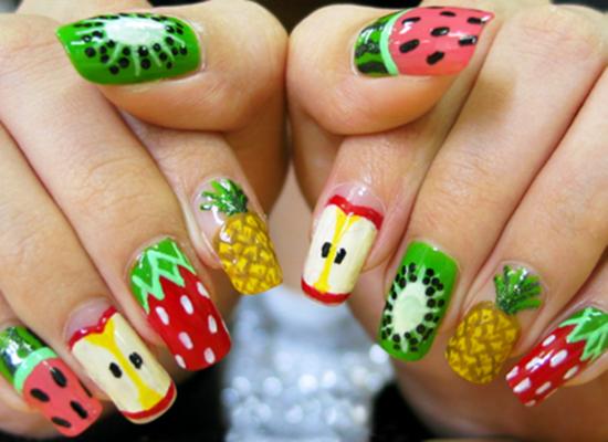 15 schattige nailartontwerpen waar je verliefd op wordt Nails  3D Nail Arts