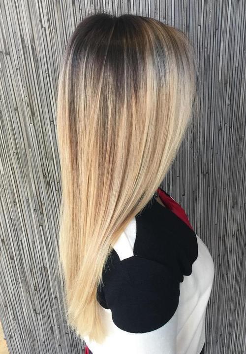 Black And Blonde Hair Pretty Designs
