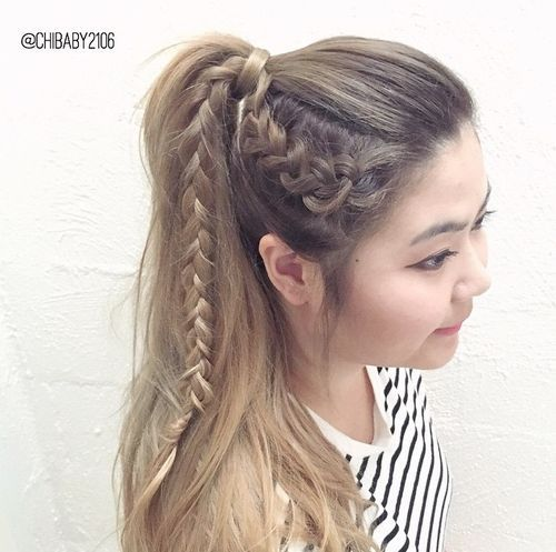 Blonde Braided Hair