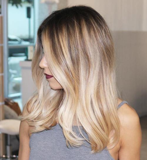 Blonde hair with black highlights pretty designs blonde hair with black highlights urmus Images