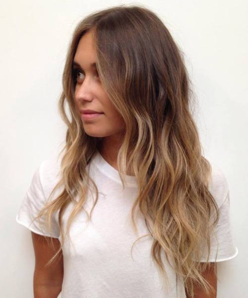 45 balayage hair color ideas 2019 blonde brown caramel red pretty designs - Ombre braun blond ...