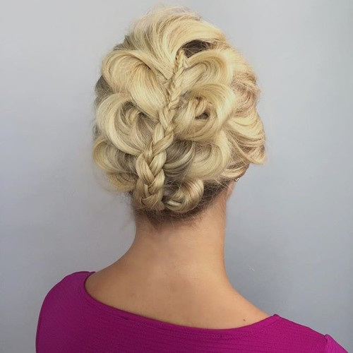 Creative Braided Hairstyle