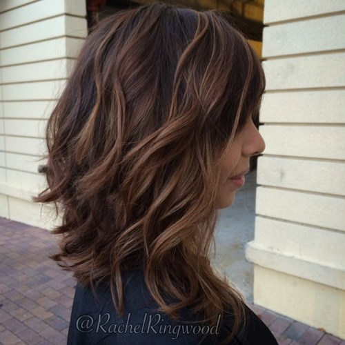 Deep Brown Curls