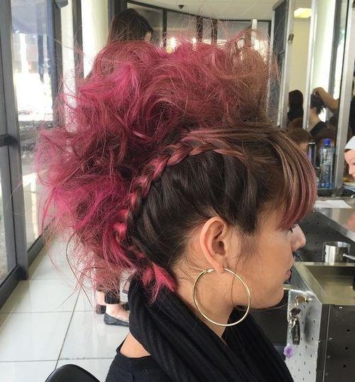 Faux Hawk Inspired Hair Look
