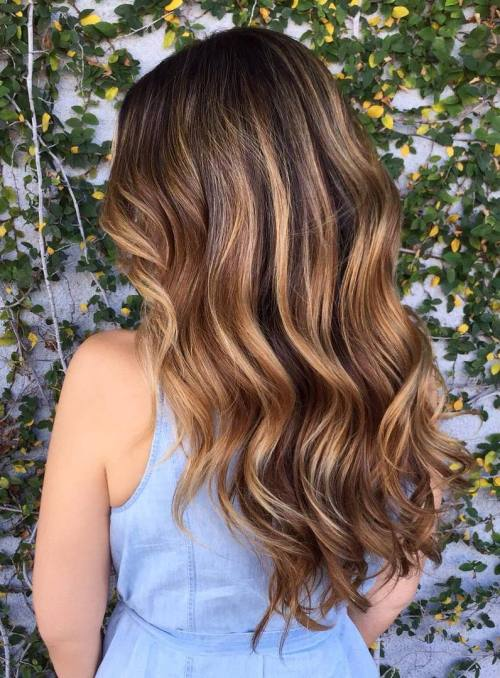 45 Balayage Hair Color Ideas 2019 Blonde Brown Caramel