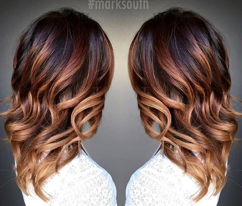 Ombre Mid-length Waves