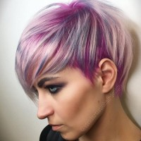 Purple Highlighted Pixie