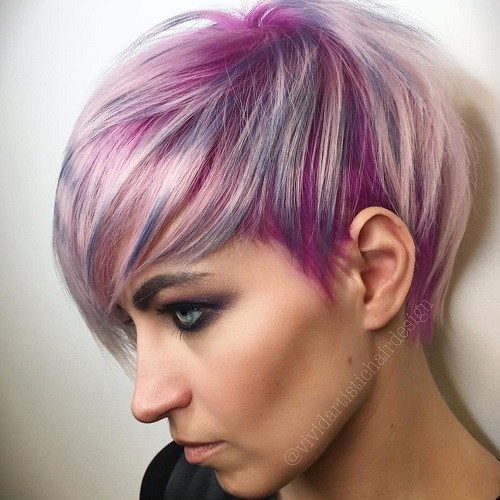 25 Best Hair Color Ideas For Short Pixie Haircuts 2019 Pretty Designs