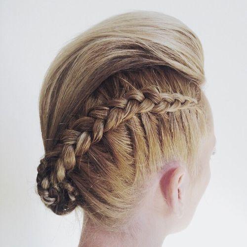 20 Faux Hawk Hairstyle For Women Trendy Female Fauxhawk Hair Ideas Pretty Designs