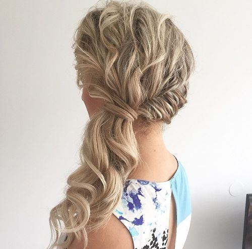 Side Twisted Ponytail