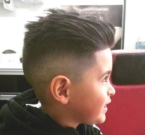 Slicked Back Hair