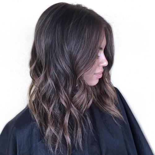 Sliver Highlights for Brunette