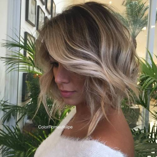 45 Balayage Hair Color Ideas 2019 - Blond, Braun, Karamell, Rot