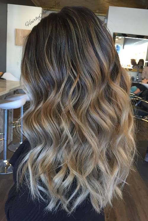 45 balayage hairstyles 2018 balayage hair color ideas with two tone hair pmusecretfo Image collections