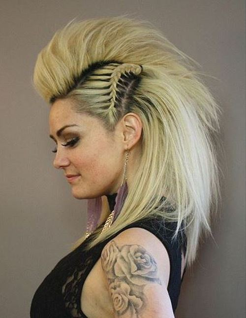 Image result for Punk-Rock Princess Faux Hawk