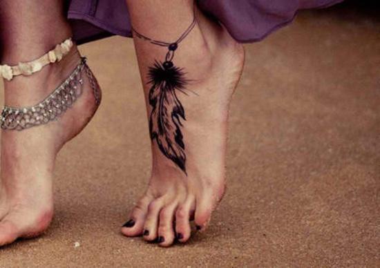 30 Cute Foot Tattoo Ideas For Girls Pretty Designs